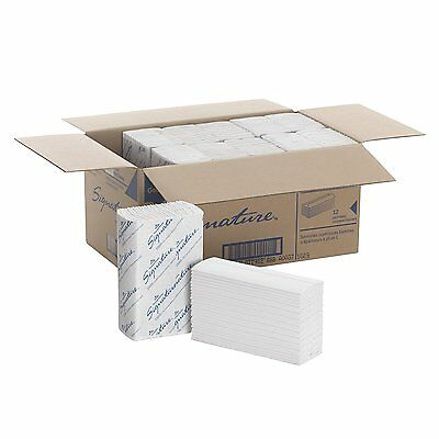 "Georgia-Pacific Signature 23000 White 2-Ply Premium C-Fold Paper Towel, 13.2"" x"