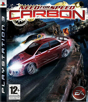 New Need for Speed Carbon (PS3, Playstation 3)
