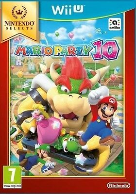 New Mario Party 10 Selects (Nintendo Wii U)