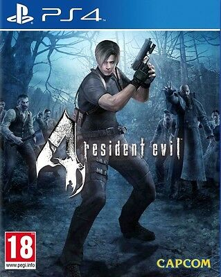 New Resident Evil 4 IV (PS4, Playstation 4)
