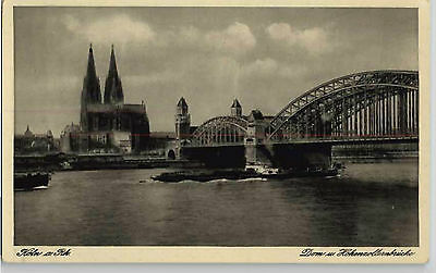 POSTCARD GERMANY: COLOGNE CATHEDRAL, 1920s.
