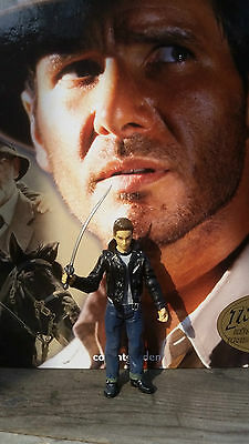 Indiana Jones Figur - Mutt Williams mit Schwert  - Hasbro 2008 - Series 2