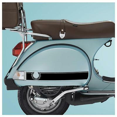 Laurel Wide Stripe Sticker Fits Vespa PX LML Side Panels -  Skinhead Mod Vespa