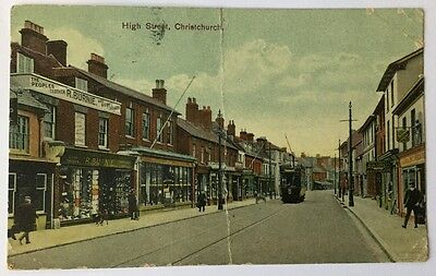 High Street, Christchurch, Used 1911 (A011)