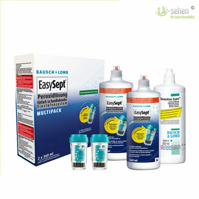 Easysept Multipack (2x 360)  (1x 355ml Sensitive Eyes Kochsalz)