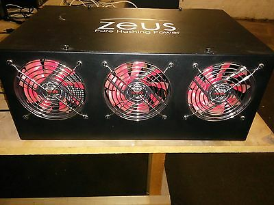 Zeus Thunder X6 Litecoin/Scrypt Miner 20+Mh/s with Power Supply