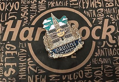 Hard Rock Cafe BRUSSELS Brüssel CITY ICON Lapel Pin Limited Edition SOLD OUT