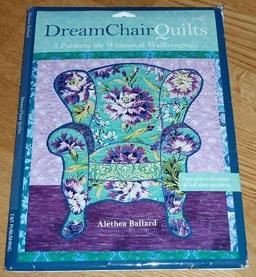 Dream Chair Quilts 7 Patterns For Whimsical Wallhangings By Alethea Ballard