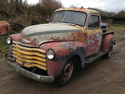 1954 chevrolet 3100 step side  pickup minimal rust runs sweet and drives  ono!