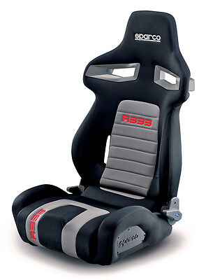Sparco R333 Asiento deportivo 00965NRGRS