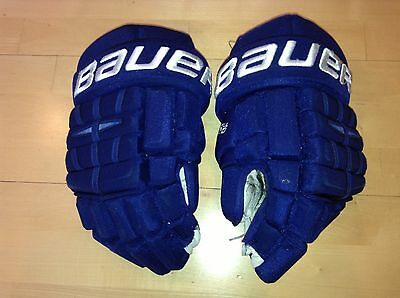 Chris Higgins Game Used Canucks Gloves CANADIENS RANGERS FLAMES PANTHERS
