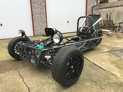 3 wheeler custom project car, trike, kit car Honda 600cc