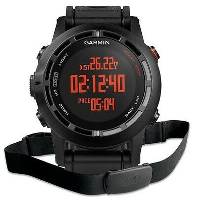 Boxed Garmin Fenix 2 GPS with Heart Rate Monitor, Altimeter, Barometer & Compass