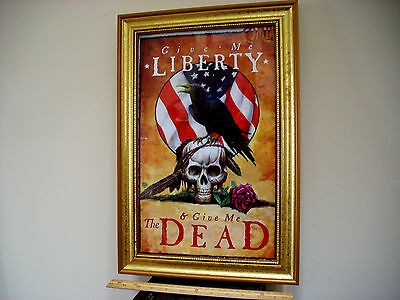 Comix Page Grateful Dead Theme, Beautifully Framed under Glass