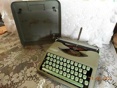 Vintage Hermes Baby Portable Typewriter by E. Paillard & Company Switzerland