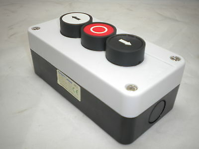 Up Down Stop Station  3 Push Button Remote Starter Control Np2-B324