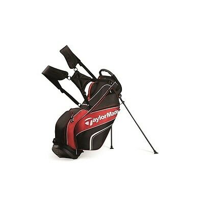 TaylorMade Pro Stand 4.0 Bag 2016 Model Black/White/Red