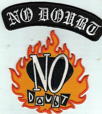 NP DOUBT OFFICIAL PATCHES .iron or sew on.GREAT SET