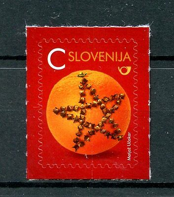 Slovenia 2016 MNH New Year Value C Orange with Cloves 1v S/A Set Stamps