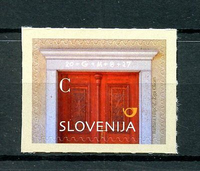 Slovenia 2016 MNH Christmas Value C Door 1v S/A Set Stamps