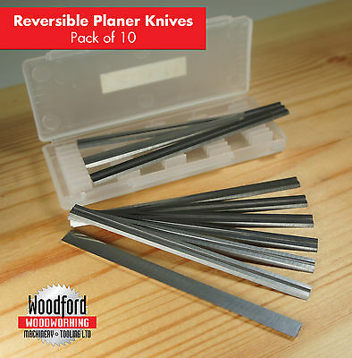 10 x 82mm carbide planer blades for Makita , Trend etc FREE SHIPPING