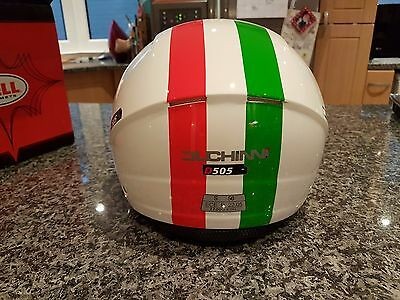 Duchinni Italian Open Face Scooter Moped Motorcycle Helmet Small