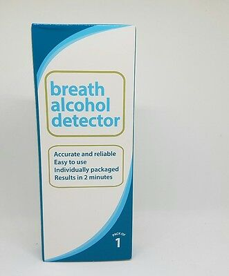 3x Test and Drive Alcohol Breathalyser Breath Kit