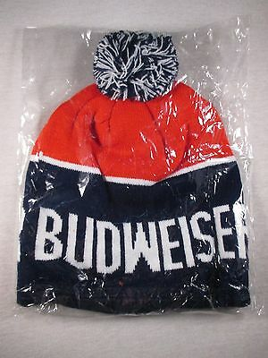 NEW Budweiser beer promo winter hat toque Sealed