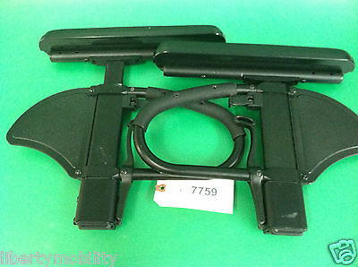 Left & Right Arm Rest w/ Receivers  for Quickie 2 Power Wheelchair #7759