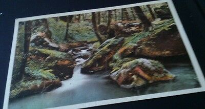 2 Old postcards petite suisse luxemburg posted 1937