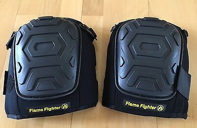 Flame Fighter Knee Guard Mining-Industrial-Welding Knee Pads Flame Retardant-New