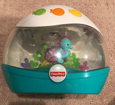Sound Machine Projection Soother Fisher Price Calming Seas Sound USED