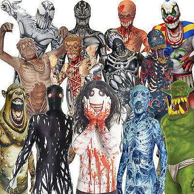 Morphsuit Monsters Kids Boys Girls Fancy Dress Costume Halloween Monster Outfit