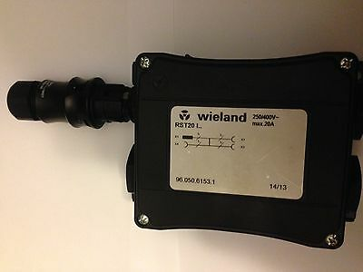 WIELAND ELECTRIC RST20 I RST compact distribution unit 96.050.6153.1 + CONNECTOR