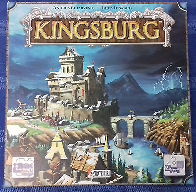 KINGSBURG gioco da tavolo board game originale italiano strategia come nuovo