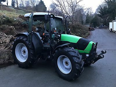 Deutz Agrofarm 430 4wd Tractor Front Links And PTO