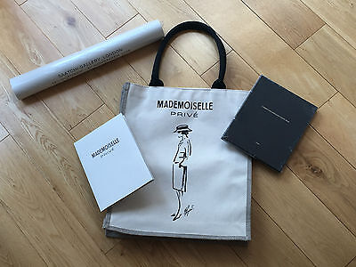CHANEL - Mademoiselle Prive Bag, posters and catalogue