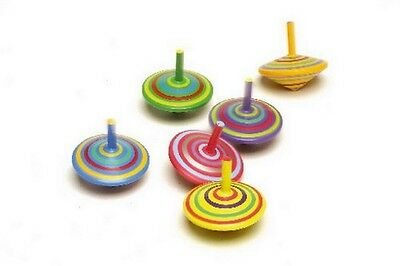 Small Foot Spinning tops. Set of 6