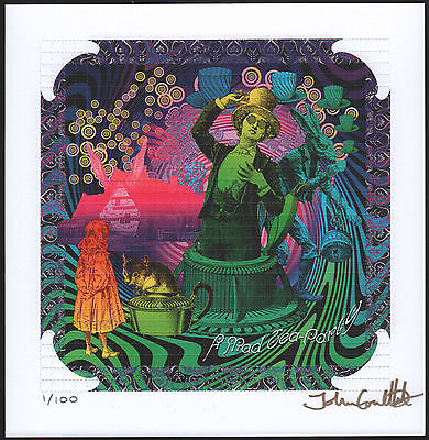 Alice 12 X Sheets Of Blotter Art Box Set Signed & Ltd To 100 Only John Coulthart
