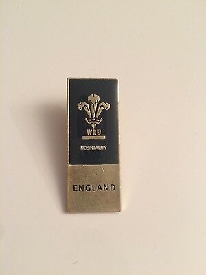 Wales v England 2017 Rugby Union Pin Badge
