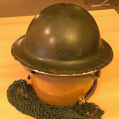 WW2 Canadian Mk.II Helmet with Liner and Net, 1942 - British, Commonwealth