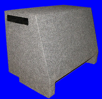 "Ford Expedition Single 15"" Ported Vented Down Fire Grey Subwoofer Enclosure Box"