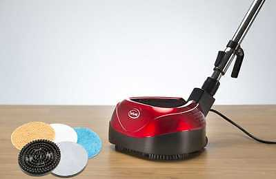 Floor Polisher Electric Commercial Cleaner Ewbank Floor Polisher, 160 W, Red