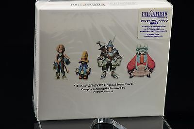 Final Fantasy IX 9 Original Soundtrack SQEX-10009~12 NEW