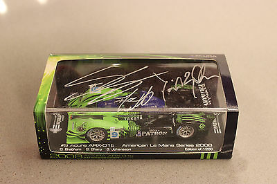 Spark 1/43 scale  AUTOGRAPHED Acura ARX-01b American Le Mans Series ALMS 2008