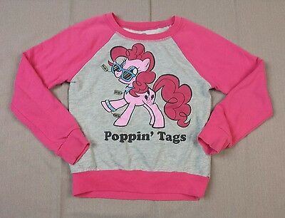 My Little Pony Pinkie Pie Sweater Girls Size Small Poppin Tags