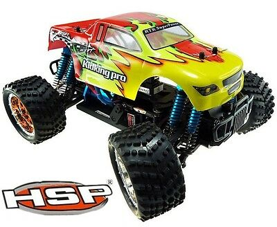 NEW HSP 1/16 94186 pro Electric Brushless 4WD OFFROAD RC CAR Monster Truck