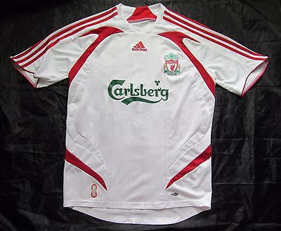 The Reds FC LIVERPOOL away shirt  jersey ADIDAS 2007-2008 men/ adult SIZE S