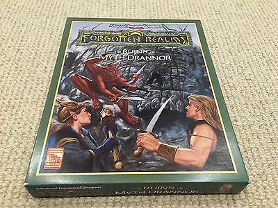 Forgotten Realms the Ruins of Myth Drannor boxed set