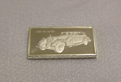 SOLID SILVER MINI INGOT of the MAYBACH 1936